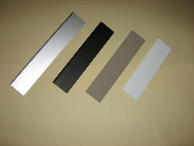 Four available raincap colors for Hale Pet Door wall and door models